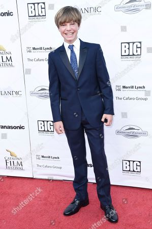 Tanner Flood attends the 2017 Catalina Film Festival at Catalina Casino, in Avalon, Calif