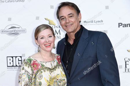 Cady McClain, Jon Lindstrom. Cady McClain, left, and Jon Lindstrom attend the 2017 Catalina Film Festival at Catalina Casino, in Avalon, Calif