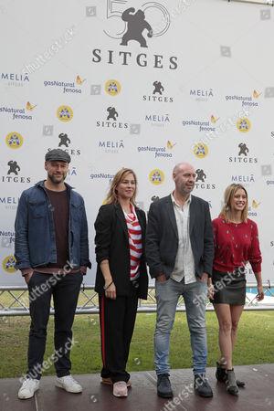 Elliot Cowan, Franka Potente and Jaume Balaguero