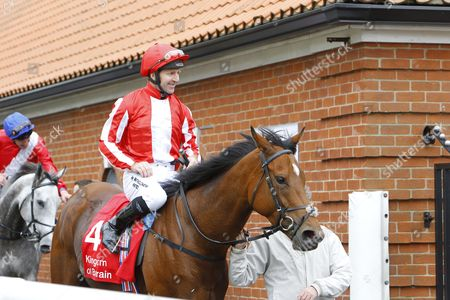 Jimmy Fortune after announcing his retirement on his final ride on Nathra at Newmarket.