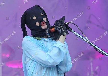 Stock Picture of Crystal Castles' Alice Glass performs on day one of the Austin City Limits Music Festival's first weekend, in Austin, Texas