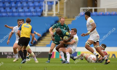 Editorial photo of London Irish v Leicester Tigers, Reading, UK - 07 October 2017