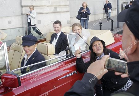 Editorial image of Wedding of Prince Philip of Serbia and Danica Marinkovic, Belgrade - 07 Oct 2017