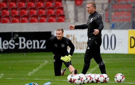 Bernd Leno and Andreas Koepke
