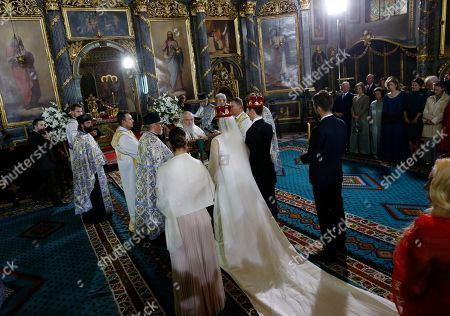 Editorial picture of Royal Wedding, Belgrade, Serbia - 07 Oct 2017