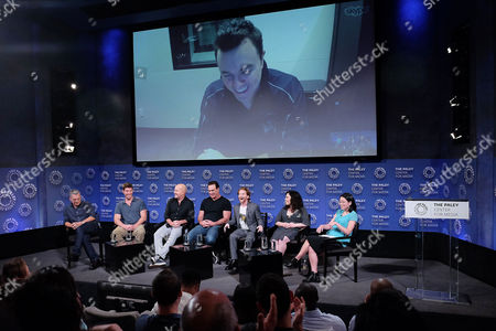 Rich Appel, John Viener, Mike Henry, Patrick Warburton, Seth Green, Alex Borstein, Cherry Chevapravatdumrong and Seth MacFarlane (via Skype)