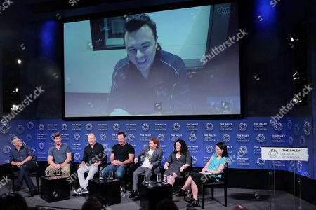 Rich Appel, John Viener, Mike Henry, Patrick Warburton, Seth Green, Alex Borstein, Cherry Chevapravatdumrong and Seth MacFarlane (via Skype)