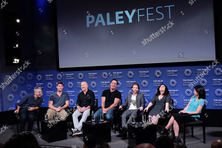 Rich Appel, John Viener, Mike Henry, Patrick Warburton, Seth Green, Alex Borstein and Cherry Chevapravatdumrong