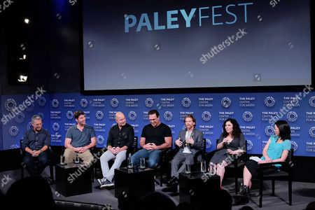 Rich Appel, John Viener, Mike Henry, Patrick Warburton, Seth Green, Alex Borstein and Cherry Chevapravatdumrong