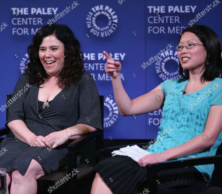 Alex Borstein and Cherry Chevapravatdumrong