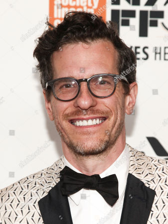 """Brian Selznick attends the premiere of """"Wonderstruck"""", during the 55th New York Film Festival, at Alice Tully Hall, in New York"""