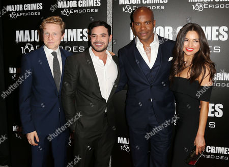 Will Attenborough, Rene Rosado, Leonard Roberts and Jessica Meraz