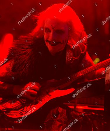 John 5 performs in concert during the Rock Allegiance Festival at BB&T Pavilion, in Camden, N.J
