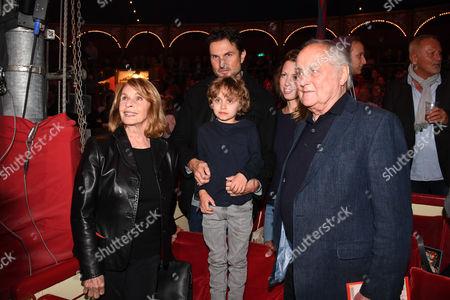 Senta Berger, Ehemann Michael Verhoeven, Sohn Simon Verhoeven, Enkelkind Henri