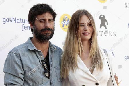 Arancha Marti and Hugo Silva