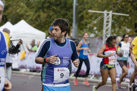Editorial picture of Royal Parks Half Marathon, London, UK - 08 Oct 2017