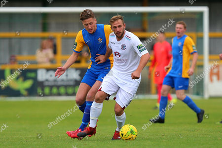 Editorial image of Romford vs Hastings United, Buildbase FA Trophy, Football, Ship Lane, Thurrock, Essex, United Kingdom - 08 Oct 2017