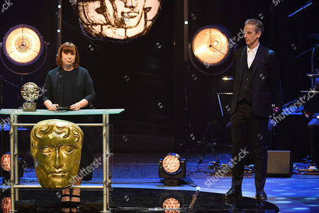 Abi Morgan - Sian Phillips Award, presented by Peter Capaldi