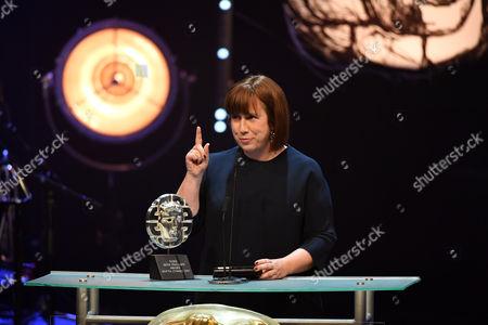 Editorial photo of British Academy Cymru Awards, Ceremony, St David's Hall, Cardiff, Wales, UK - 08 Oct 2017