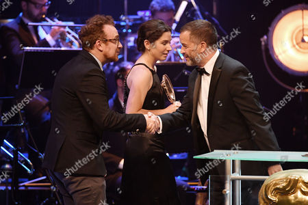 Editorial picture of British Academy Cymru Awards, Ceremony, St David's Hall, Cardiff, Wales, UK - 08 Oct 2017