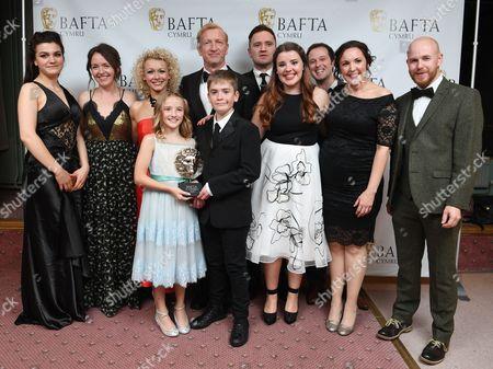 Steffan Rhodri, Erin, Moi - Children's Programme - Deian a Loli - Leona Vaughan and cast