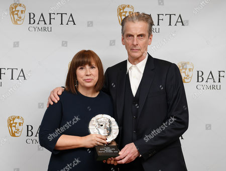 Abi Morgan - Sian Phillips Award - and Peter Capaldi