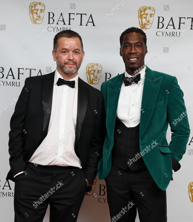 Stock Picture of Geraint Morgan and Christian Malcolm