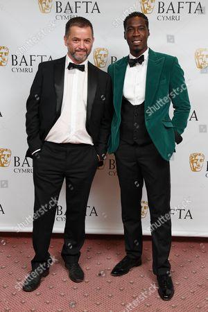 Geraint Morgan and Christian Malcolm