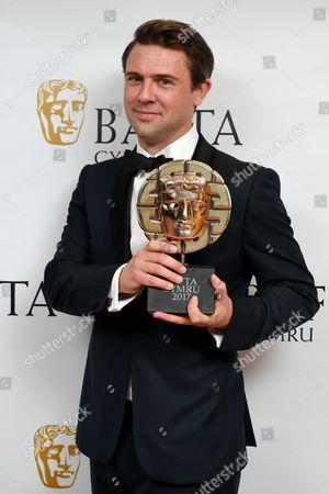 Editorial picture of British Academy Cymru Awards, Press Room, St David's Hall, Cardiff, Wales, UK - 08 Oct 2017