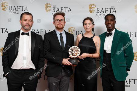 Editorial image of British Academy Cymru Awards, Press Room, St David's Hall, Cardiff, Wales, UK - 08 Oct 2017