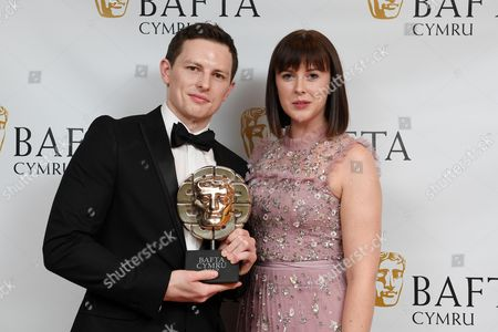 Editorial image of British Academy Cymru Awards, Press Room, St David's Hall, Cardiff, Wales, UK - 08 Oct 2017
