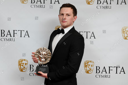 Editorial photo of British Academy Cymru Awards, Press Room, St David's Hall, Cardiff, Wales, UK - 08 Oct 2017