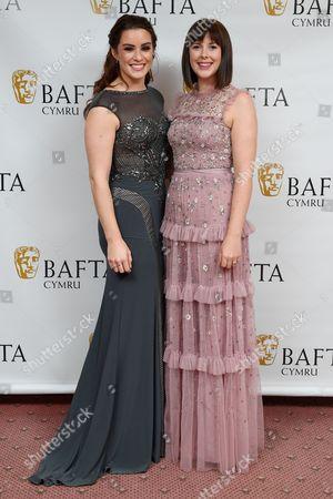 Lucie Jones and Alexandra Roach