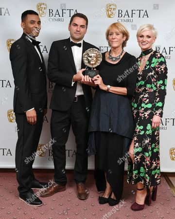 Lloyd Everitt, Hannah Daniel, Karen Voisey and Andy Maguire - News and Current Affairs - Michael Sheen: The Fight For My Steel Town
