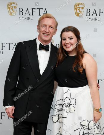 Steffan Rhodri and Leona Vaughan
