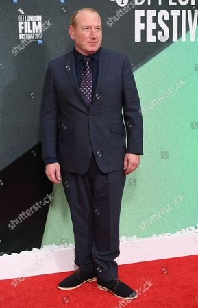 British actor Adrian Scarborough arrives for the premiere of 'On Chesil Beach' for the 61st BFI London Film Festival, in London, Britain, 08 October 2017. The festival runs from 04 to 15 October.