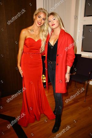 Stock Photo of Aneta Sablik and Luna Marie Schweiger