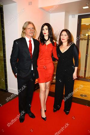 Frank Otto and Nathalie Volk and Viktoria Volk