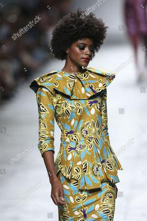 Editorial photo of Nadir Tati - Runway - Lisbon Fashion Week, Portugal - 08 Oct 2017
