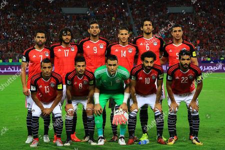 Editorial image of Egypt v Congo, 2018 World Cup Qualifiers, CAF, Borg El Arab Stadium, Alexandria, Egypt - 08 Oct 2017