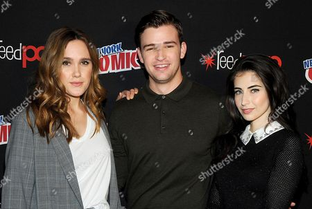 Eden Brolin, Burkely Duffield and Dilan Gwyn