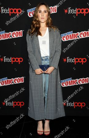 Editorial image of 'Beyond' TV show photocall, New York Comic Con, USA - 07 Oct 2017