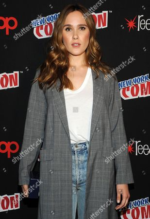 Editorial picture of 'Beyond' TV show photocall, New York Comic Con, USA - 07 Oct 2017