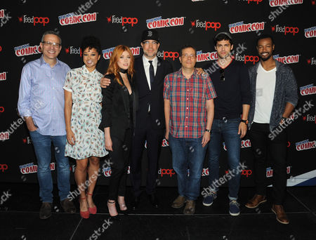 Editorial image of 'Shadowhunters' TV show photocall, New York Comic Con, USA - 07 Oct 2017