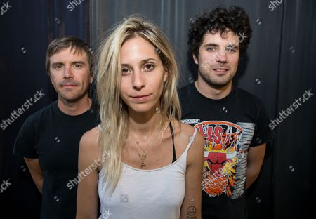 Clayton Parker, Alicia Bognanno, Stewart Copeland of Bully
