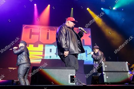 Stock Image of Color Me Badd perform