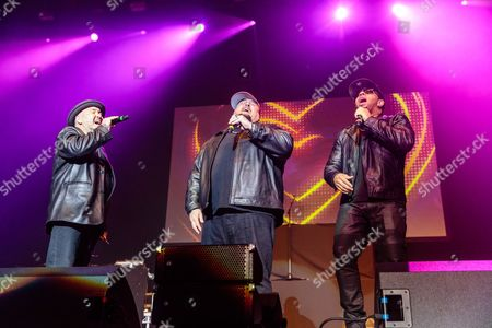 Stock Photo of Color Me Badd perform