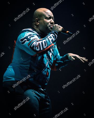 Stock Picture of Young MC perform