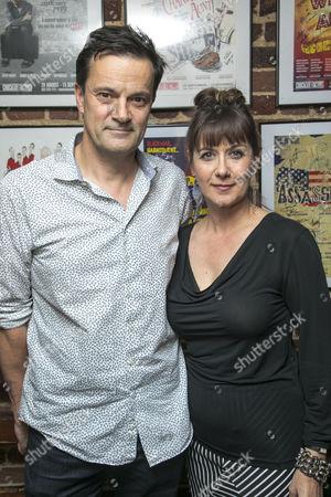 Tony Gardner (Michel) and Alexandra Gilbreath (Laurence)