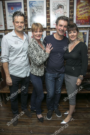 Tony Gardner (Michel), Samantha Bond (Alice), Alexander Hanson (Paul) and Alexandra Gilbreath (Laurence)